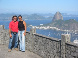 Us in Rio de Janeiro