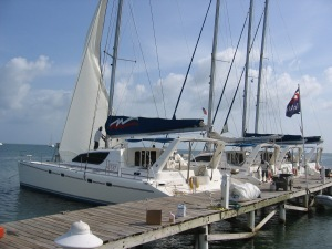 The Moorings Base in Belize.