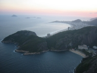 Over looking Rio.