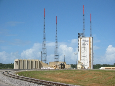 Visiting the French Ariane Station in French Guyana