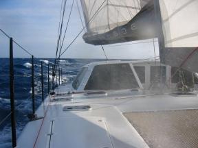 Kanaloa sailing.