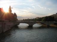 The Seine, Paris France.