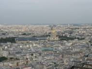 Over looking Paris.