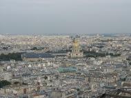 Over looking Paris.