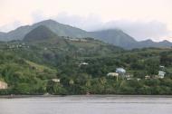 Martinique Coastline.