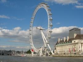London Eye.