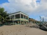 OJ's Beach Bar, Antigua.