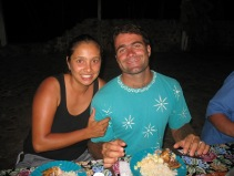Us at the camp site.