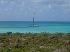 Anchored in Barbuda.