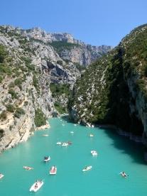 The Gorges du Verdon, France.
