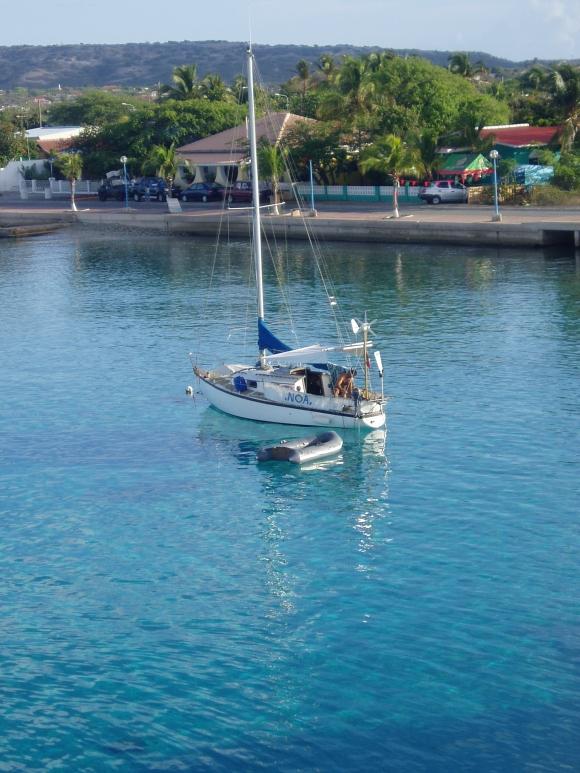 Noa in Bonaire.