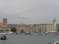 The little harbour of La Ciotat in the South of France.