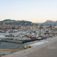 The cute little port of Cassis.