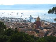 Over looking St Tropez.