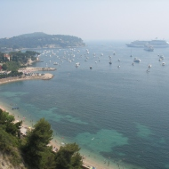 Busy Summers day in the South of France.