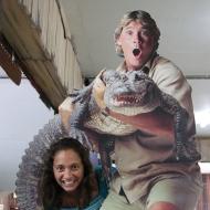 The late Steve Irwin.
