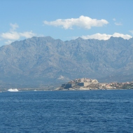Corsica's Mountain scene.