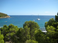 Anchored in Elba, Italy.