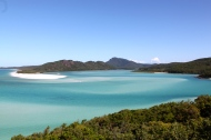 The Whitsundays.