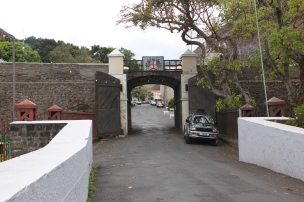 The entrance to the town.