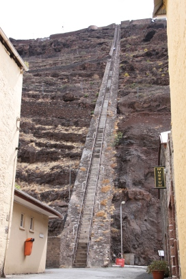 The famous Jacobs ladder.