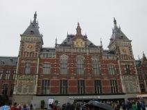 Amsterdam Central.