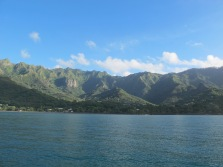 The Marquesas - Anchored in Nuku Hiva