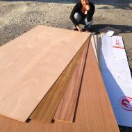Our wood order.