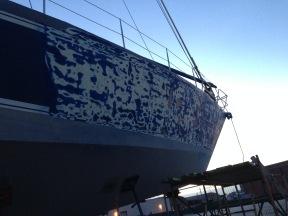 KB's hull so far.