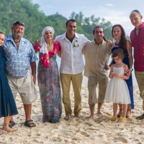 Morgan and his family.