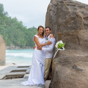 A Wedding in the Seychelles.