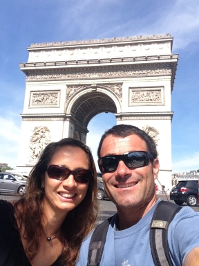 Enjoying a few days in Paris.