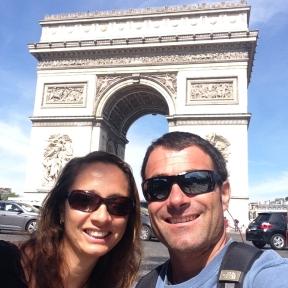 Enjoying a few days in Paris.