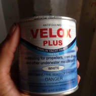 Antifouling used.