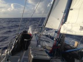 Nicer sailing.