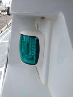 Starboard Navigation light.